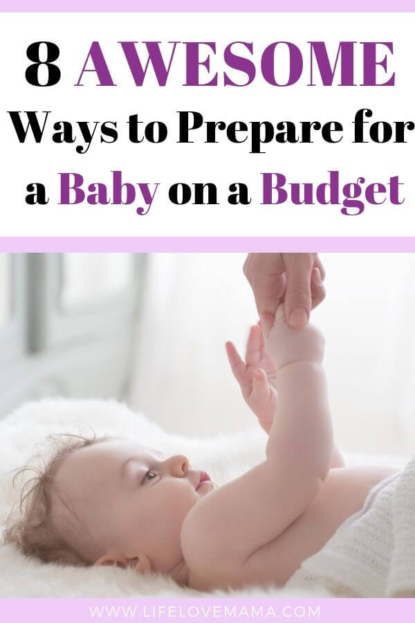 Awesome ways to save money preparing for a baby/How to prepare for a baby on a budget