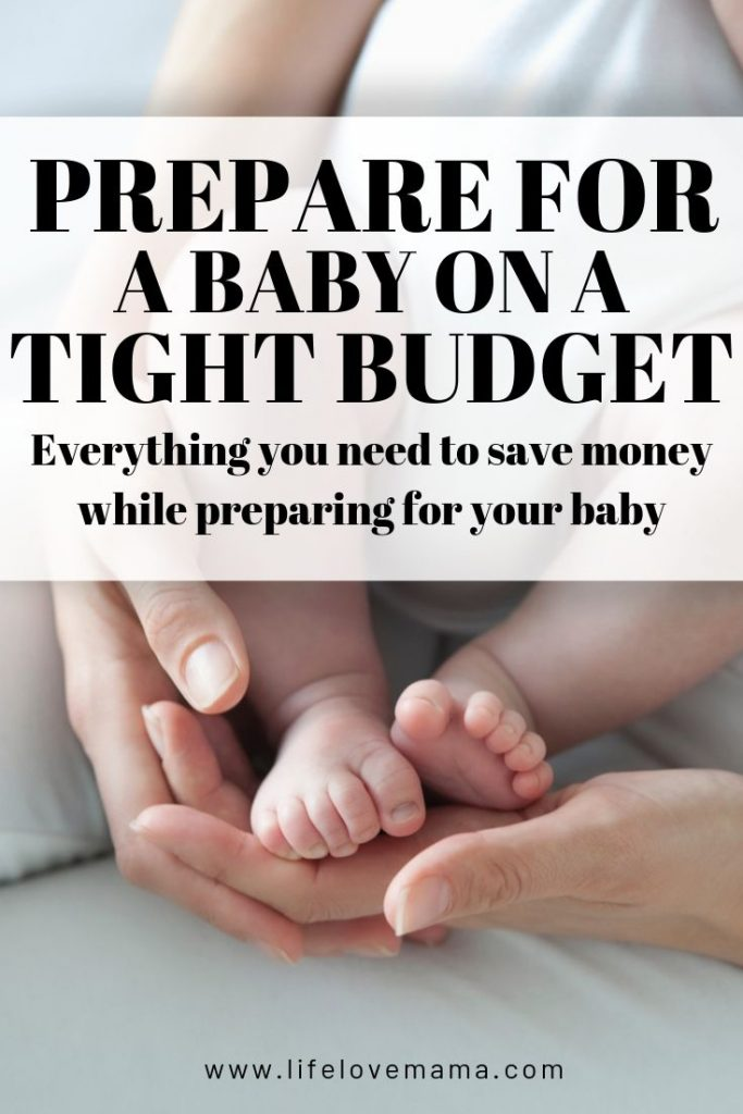 preparing for a baby on a budget/preparing for a baby while saving money