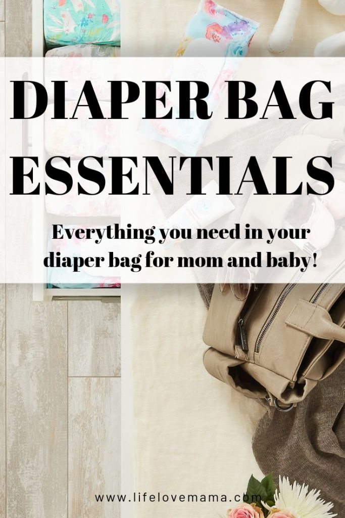 diaper bag essentials/everything you need in your diaper bag