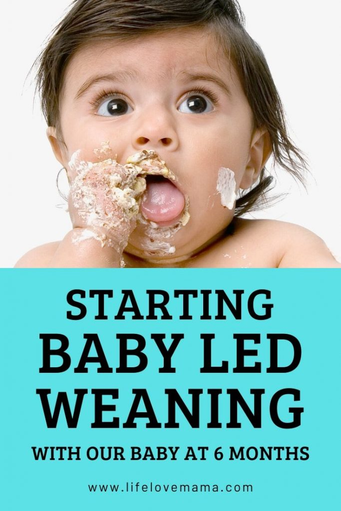 baby feeding himself/baby led weaning at 6 months