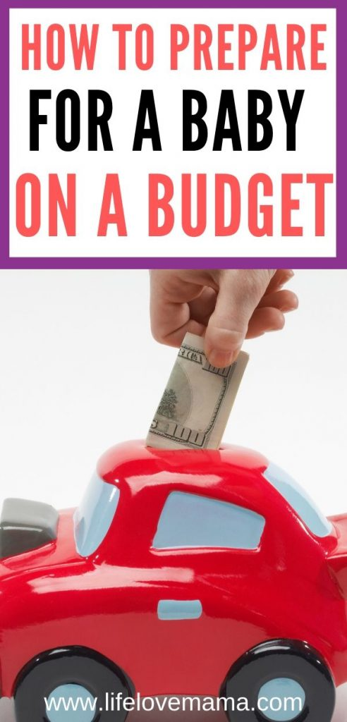 prepare for a baby on a small budget