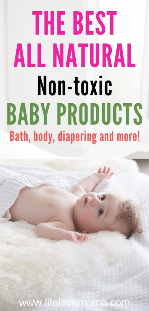 the best all natural baby products/the best non-toxic baby products