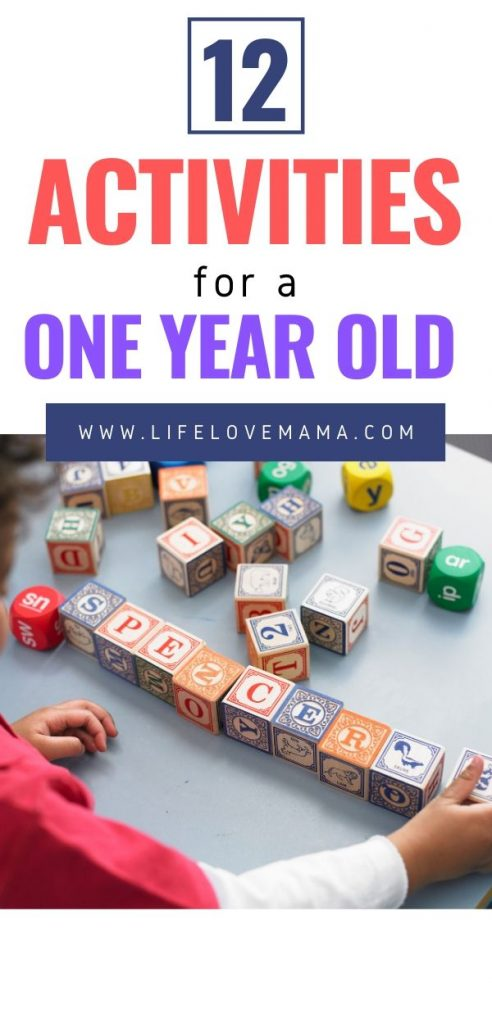 activities for a toddler/activities to keep a one year old busy