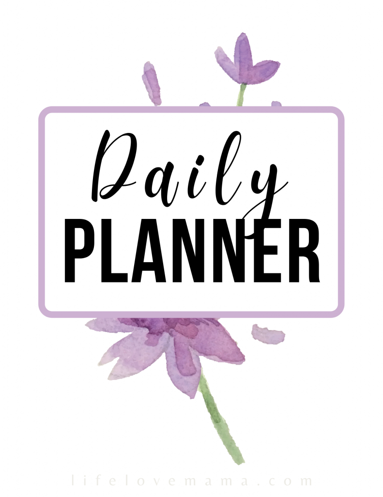 picture of a daily planner front cover