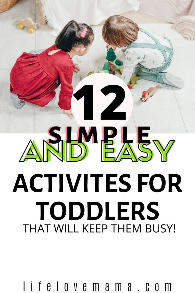 toddlers playing activities