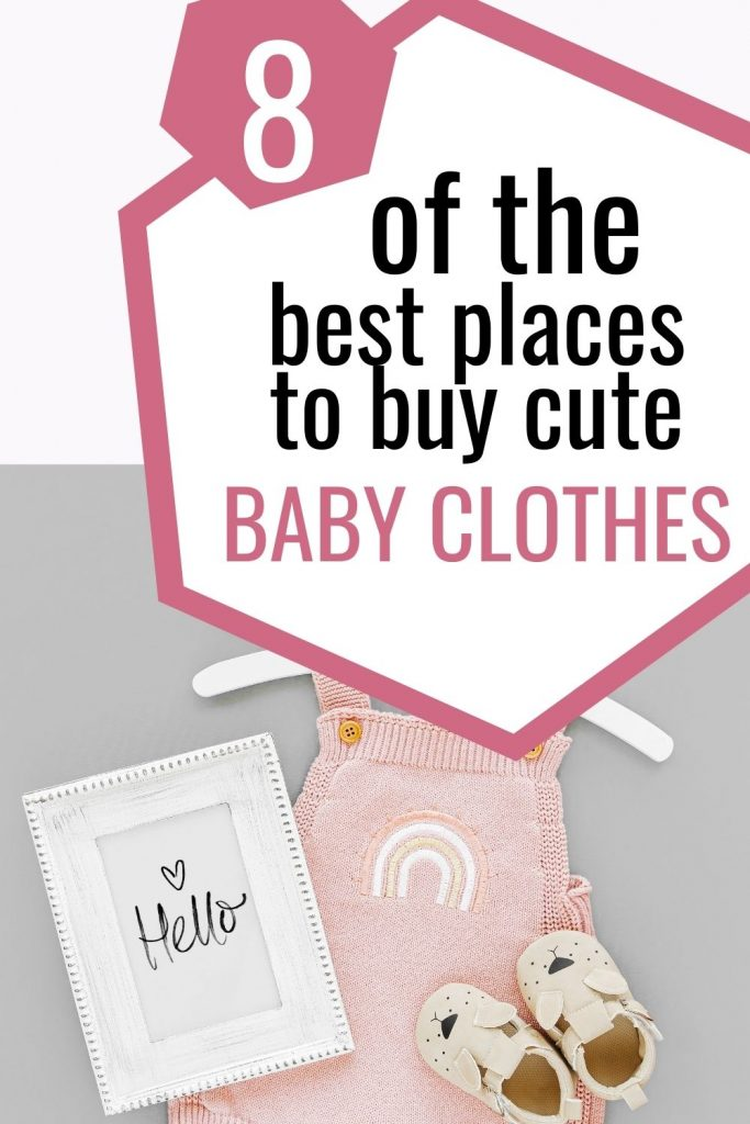 the best places to buy cute baby clothes