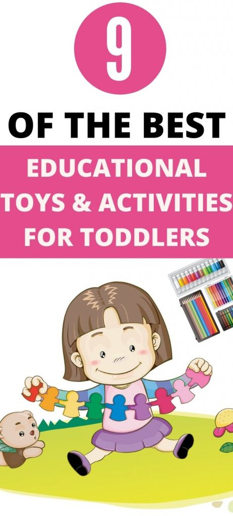 educational toys and activities for toddlers