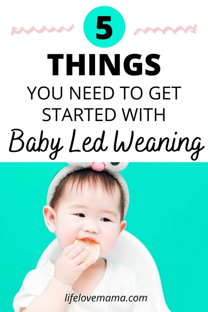 things you need for your baby for baby led weaning
