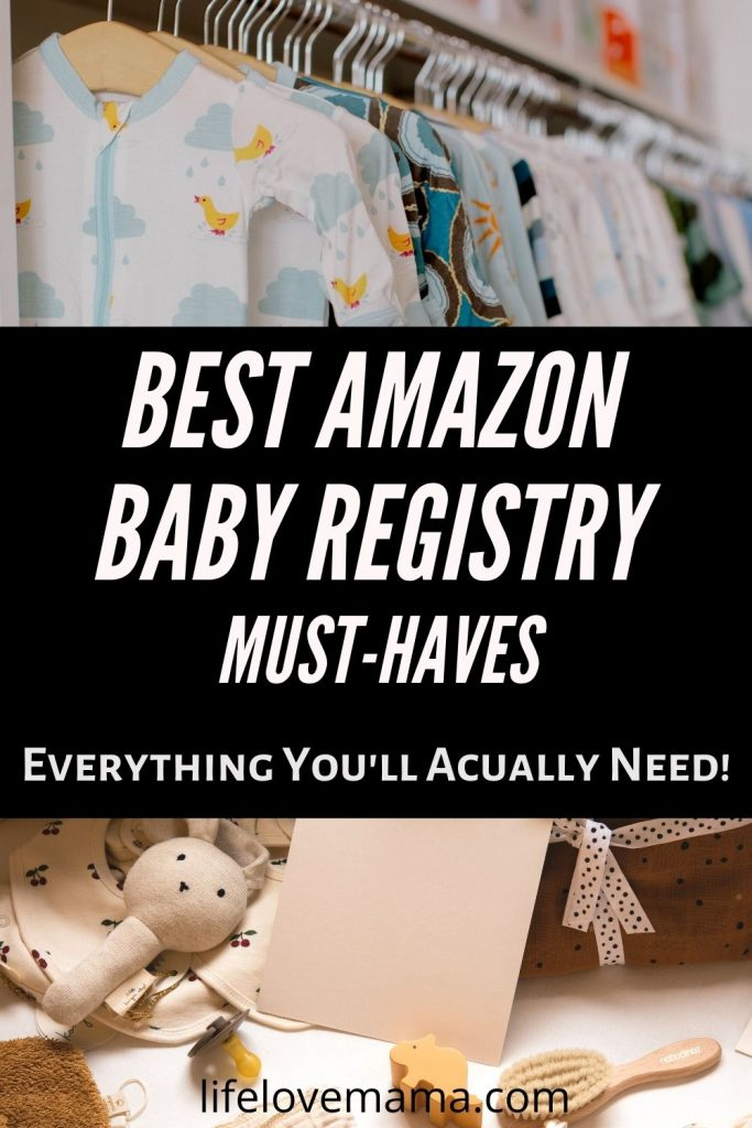 best amazon baby registry must haves